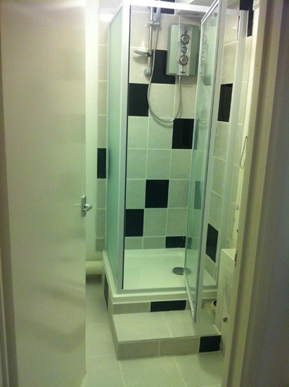 cloakroom WC coverted to shower room startford upon avon