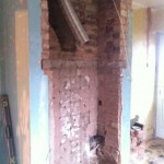 altering chimney breats to take range cooker and hood