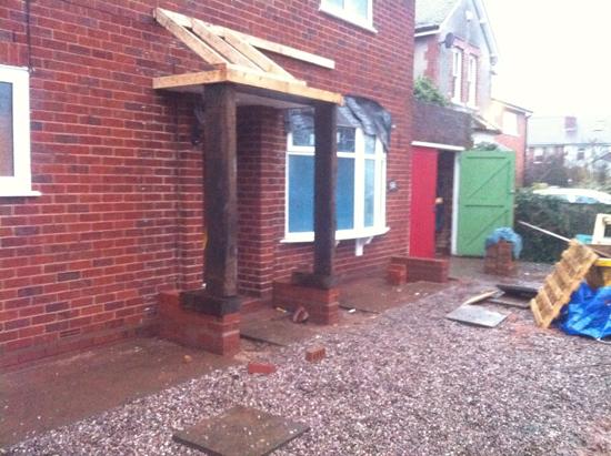 new build porch 2