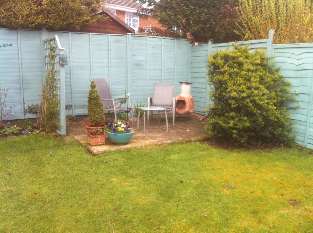 old patio, kineton. warwickshire