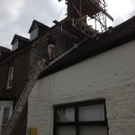 chimney repointing and gable repairs