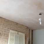 ceiling over baording and plastered. plastering in warwick, warwickshire