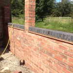garden wall rebuild. chadshunt