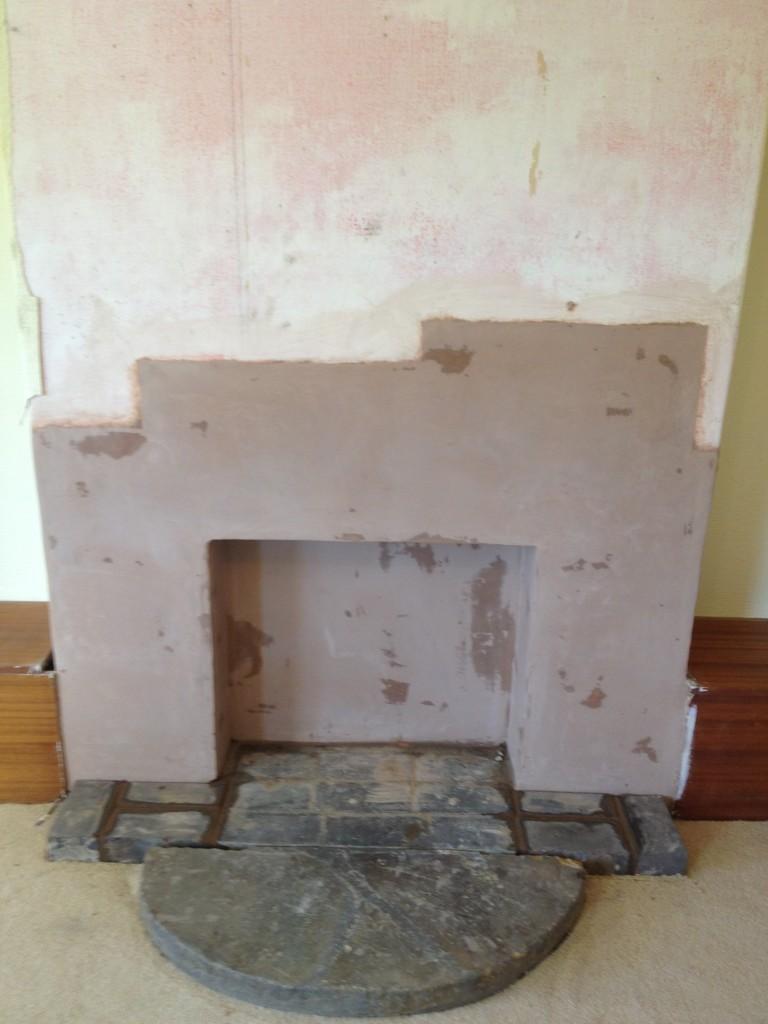 fireplace alterations. kineton, warwickshire