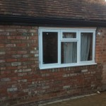new opening and window. sniterfield, warwickshire