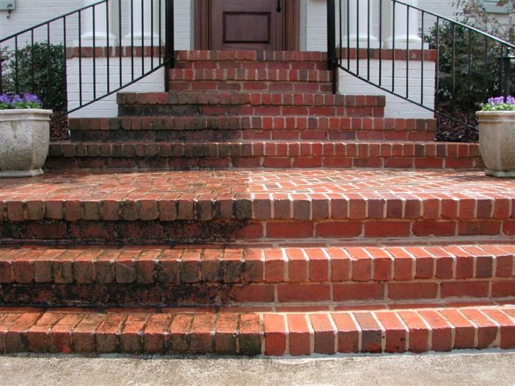 Surface cleaning brick step cleaning for How to build a brick house step by step pdf