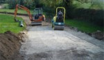 groundworks. block paving warwick, warwickshire
