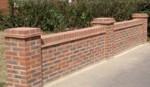 retaining garden wall. warwick, warwickshire